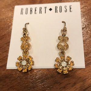 NWT crystal earrings